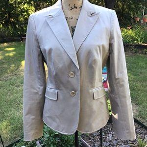 The Limited khaki cotton lined blazer